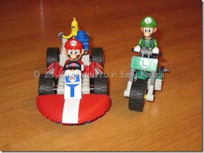 K'NEX Mario and Luigi