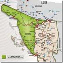 agua prieta map