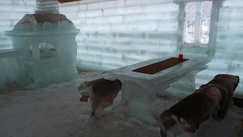 la maison de glace