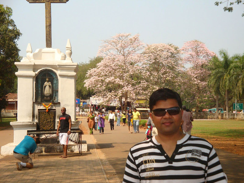 Kapil Samadhiya @ Goa's Church
