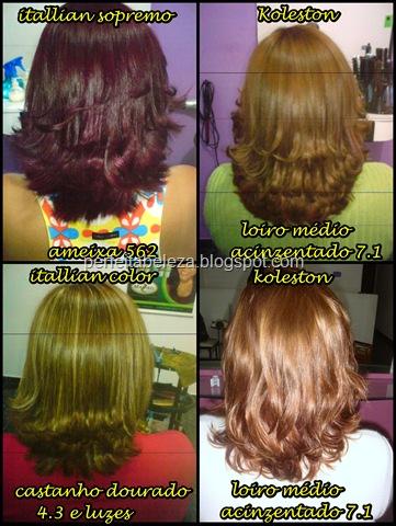 retirando o vermelho do cabelo