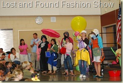Lost and found fashion show 2