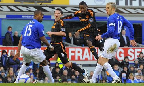Kalou, Everton - Chelsea