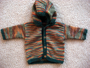 Little Gnomie Jacket - size 3-6 Months