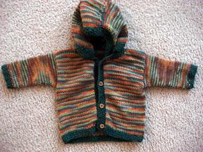 Little Gnomie Jacket - size 3-6 Months