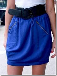 Mink Pink Cobalt Skirt FCU