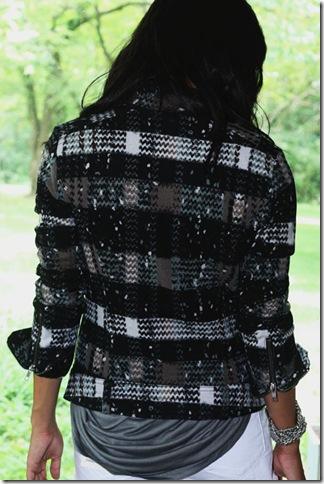 Knit Moto Jacket B