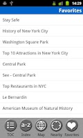 Screenshot of New York City - Travel Guide