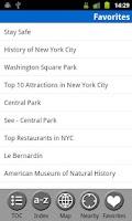 Screenshot of New York City - Travel Guide