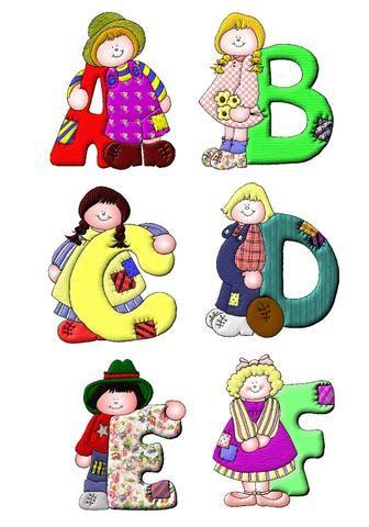 Imagenes de letras del abecedario - Figuras decorativas grandes ...