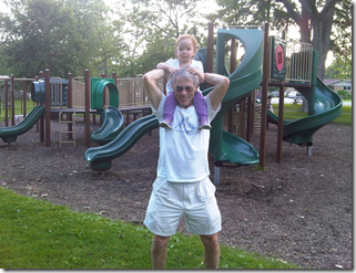 grampie and annie at kingsville park