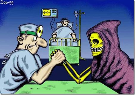 Карикатура доктор медицина 5