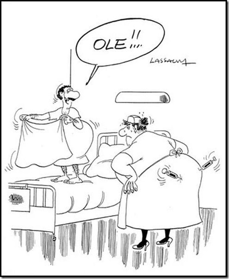 Карикатура доктор медицина 1