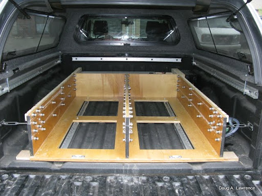 Latest project truck drawers sleeping platform expedition portal - Diy truck bed storage ...