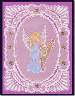 Kopia Anioł z harfą