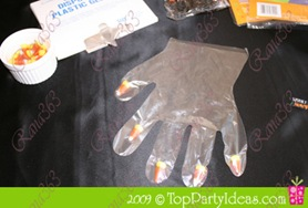 Halloween Popcorn Hand Craft with Sleeve Trick-or-Treat Bag