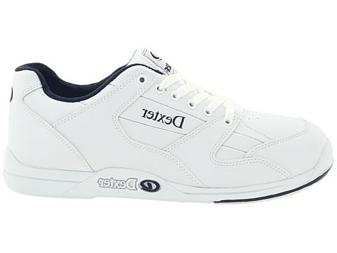 Dexter S8 - Talón de microfibras para zapatos de bolos, color blanco