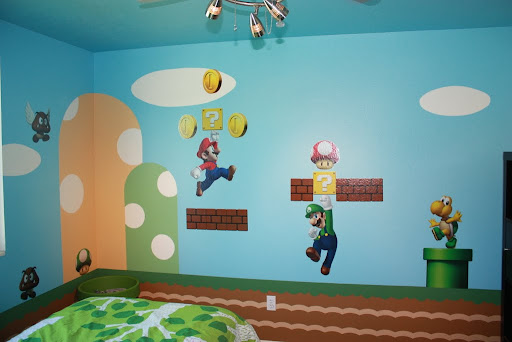 about the house with aaron parr super mario bedroom