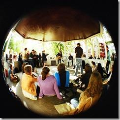 bandstand busking