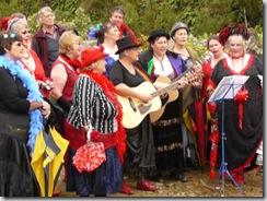 colourful choir
