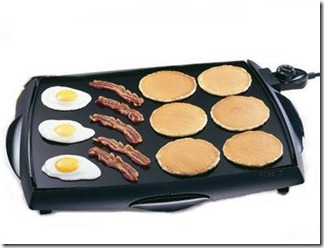 Cool Touch Electric Tilt' N' Drain Big Griddle