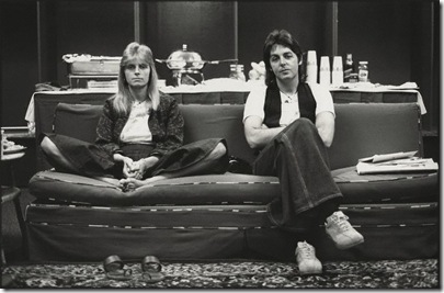 NPG x128707, Linda McCartney; Sir (James) Paul McCartney
