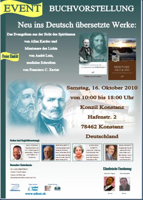 evento de lancamento de livros traduzidos para o idioma alemao