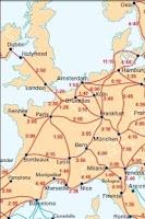 Screenshot of Europe rail