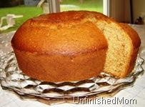 Applesauce Cake - slice