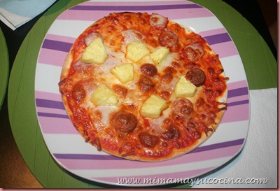 Pizza Casera - Mimamaysucocina.com