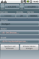 Screenshot of Fahrtenbuch For Android