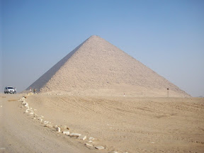 The Red Pyramid in Dashur