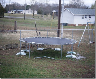 our trampoline