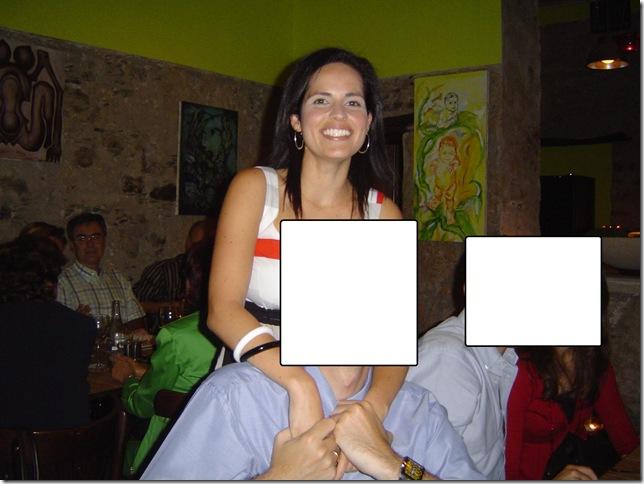 Cumple 2007, 28 añitos cena en La Chascona 025