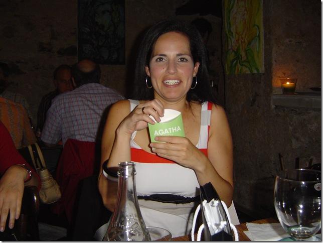 Cumple 2007, 28 añitos cena en La Chascona 016