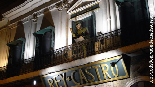 "Restaurant and Bar ""Rey Castro"" in Monserrat in Buenos Aires, Argentina"