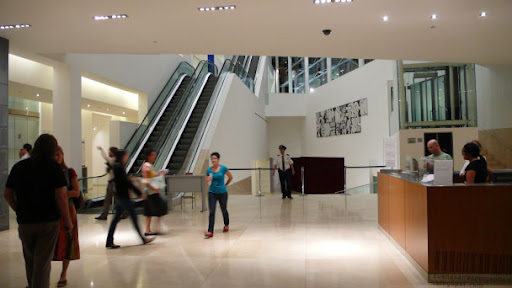Inside the MALBA in the Palermo neighborhood of Buenos Aires, Argentina
