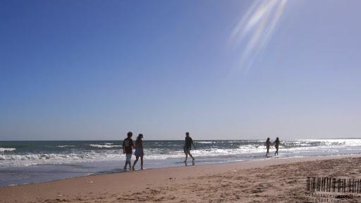 Secluded Atlantic Beach near Punta del Este in Uruguay