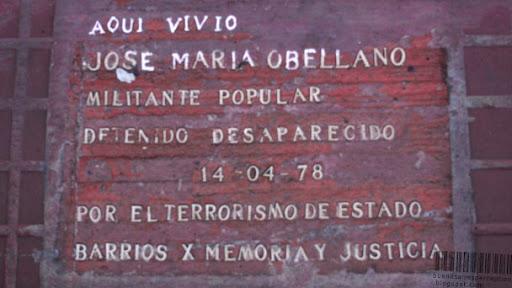 Stumble Stones Plaques in Buenos Aires, Argentina