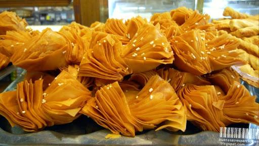 Pastelitos Criollos, Factura Specialty in a Pastelería in Buenos Aires, Argentina