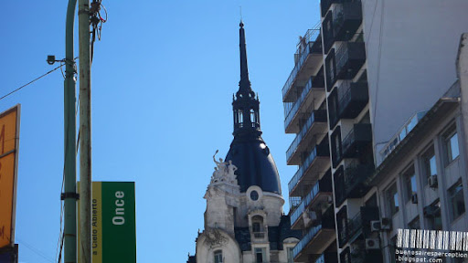 Cupola of a Building in Once Buenos Aires, Argentina