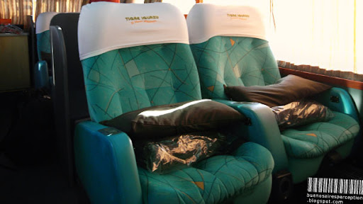 Cama Suite, First Class Bus Travel Overnight on Long Distances in Argentina