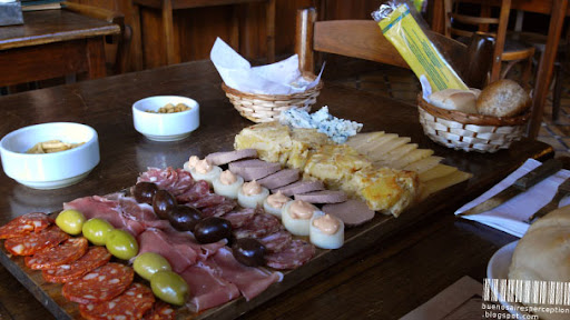 Una Picada, a Typical Argentine Fingerfood, Buenos Aires, Argentina