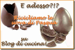 riciclamo le uova di pasqua
