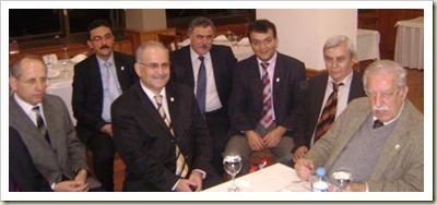 Nevzat Yalçıntaş, Kocaeli Aydınlar Ocağı Üyeleri ile birlikte