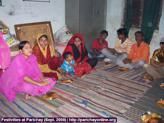Festivities at Parichay (Sept. 2009) 