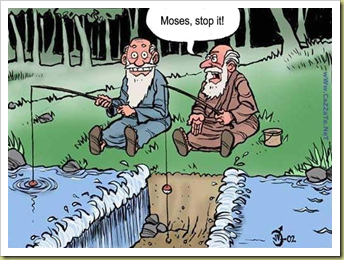 Moses Cartoon