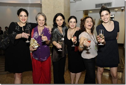 Martha Nowill, Selma Egrei, Lígia Cortez, Regina França, Patrícia Gasppar e Maria Manoella