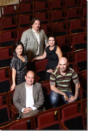 Maestro, Caetano e elenco - Foto Ibraim Leão