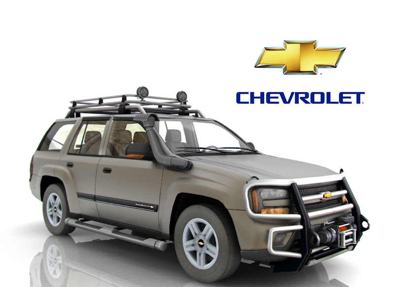 3D model of Chevrolet Trail Blazer